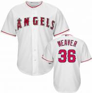 Los Angeles Angels Jered Weaver Replica Home Baseball Jersey