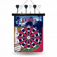 Los Angeles Angels Magnetic Dart Board