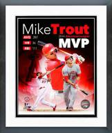Los Angeles Angels Mike Trout 2014 American League MVP Framed Photo
