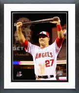 Los Angeles Angels Mike Trout 2014 MLB All-Star Game Action Framed Photo