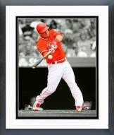Los Angeles Angels Mike Trout 2015 Spotlight Action Framed Photo