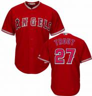 Los Angeles Angels Mike Trout Replica Scarlet Alternate Baseball Jersey
