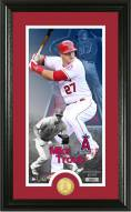 Los Angeles Angels Mike Trout Supreme Bronze Coin Photo Mint