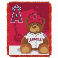 Los Angeles Angels MLB Baby Blanket
