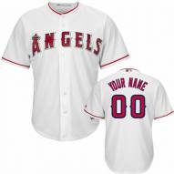 Los Angeles Angels Personalized Replica Home Baseball Jersey