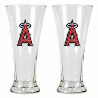Los Angeles Angels Premiere Pilsner Glass Set