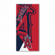 Los Angeles Angels Puzzle Beach Towel