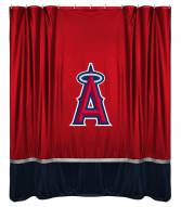 Los Angeles Angels Sidelines Shower Curtain