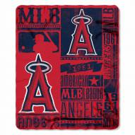 Los Angeles Angels Strength Fleece Blanket