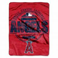 Los Angeles Angels Structure Throw Blanket