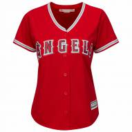 Los Angeles Angels Women's Replica Scarlet Alternate Baseball Jersey