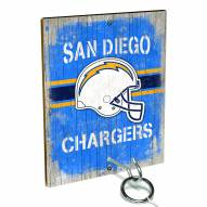 Los Angeles Chargers Ring Toss Game