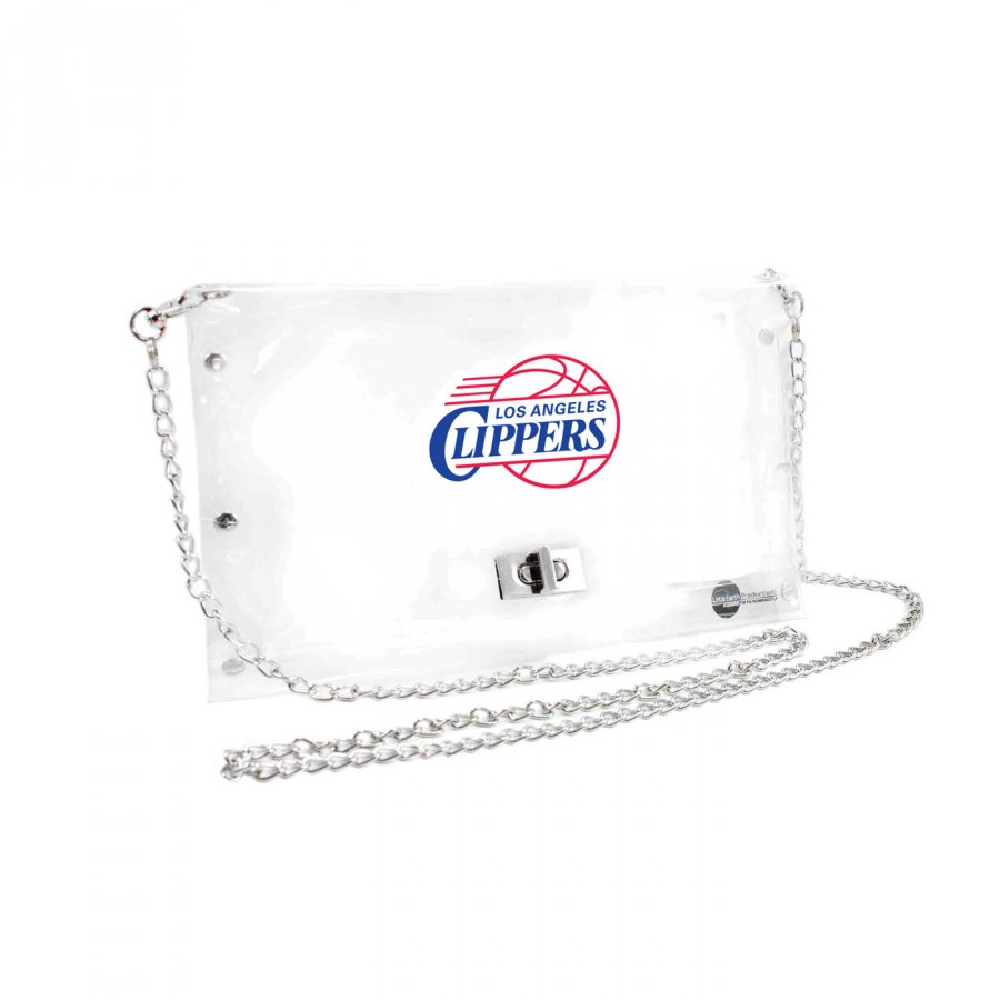 Los Angeles Clippers Clear Envelope Purse