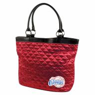Los Angeles Clippers Quilted Tote Bag