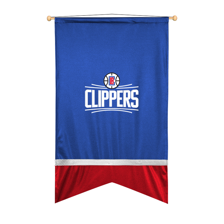 Los Angeles Clippers Sidelines Wall Flag