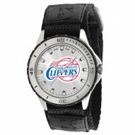 Los Angeles Clippers Veteran Velcro Mens Watch