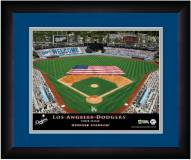 Los Angeles Dodgers 13 x 16 Personalized Framed Stadium Print