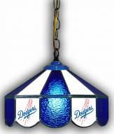 "Los Angeles Dodgers 14"" Glass Pub Lamp"