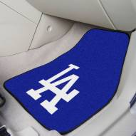 Los Angeles Dodgers 2-Piece Carpet Car Mats