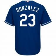 Los Angeles Dodgers Adrian Gonzalez Replica Royal Alternate Baseball Jersey