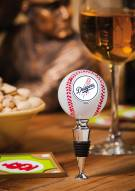 Los Angeles Dodgers Baseball Wine Stopper