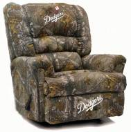 Los Angeles Dodgers Big Daddy Camo Recliner