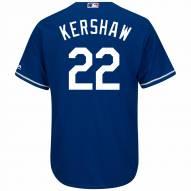 Los Angeles Dodgers Clayton Kershaw Replica Royal Alternate Baseball Jersey