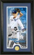Los Angeles Dodgers Clayton Kershaw Supreme Bronze Coin Photo Mint