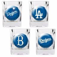Los Angeles Dodgers Collector's Shot Glass Set