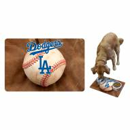 Los Angeles Dodgers Dog Bowl Mat