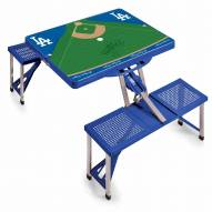 Los Angeles Dodgers Folding Picnic Table