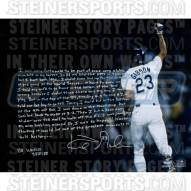 "Los Angeles Dodgers Kirk Gibson Homerun Story Signed 16"" x 20"" Photo"