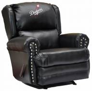 Los Angeles Dodgers Leather Coach Recliner