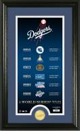 Los Angeles Dodgers Legacy Supreme Bronze Coin Panoramic Photo Mint