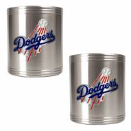 Los Angeles Dodgers MLB Stainless Steel Can Holder 2-Piece Set