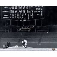 "Los Angeles Dodgers Sandy Koufax Last Pitch During No Hitter Signed 16"" x 20"" Photo"