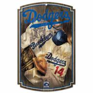 "Los Angeles Dodgers ""Throwback"" Wood Sign"