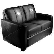 Los Angeles Dodgers XZipit Silver Loveseat with Secondary Logo
