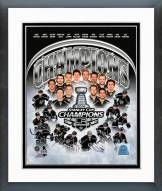 Los Angeles Kings 2014 Stanley Cup Champions Composite Framed Photo