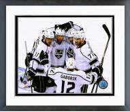 Los Angeles Kings Goal Celebration 2014 Stanley Cup Finals Framed Photo