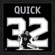 Los Angeles Kings Jonathan Quick Uniframe Framed Jersey Photo