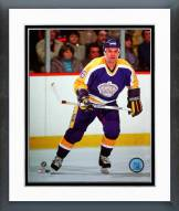 Los Angeles Kings Marcel Dionne Action Framed Photo