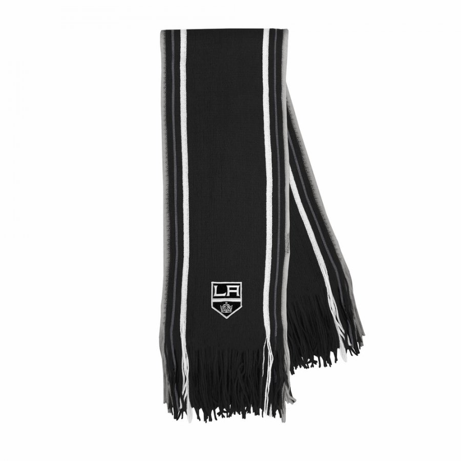 Los Angeles Kings Stripe Fringe Scarf