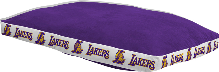 "Los Angeles Lakers 26"""" x 37"""" Dog Bed"