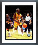 Los Angeles Lakers Gary Payton Action Framed Photo