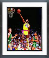 Los Angeles Lakers James Worthy 1983 Action Framed Photo