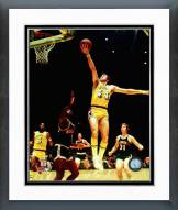Los Angeles Lakers Jerry West Action Framed Photo