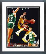 Los Angeles Lakers Magic Johnson Action Framed Photo