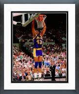 Los Angeles Lakers Mychal Thompson 1990 Action Framed Photo