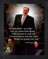 Los Angeles Lakers Phil Jackson Framed Pro Quote